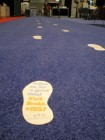 Foot Path Floor Decals
