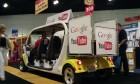 Show Floor Trolley Rides & Advertising