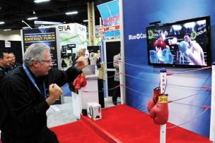 Gaming Pods: Oxygen Bar, Wii, Golf, NASCAR