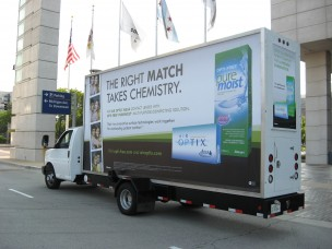 Mobile Truck Billboards