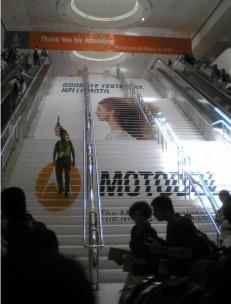 Stair Ads & Decals