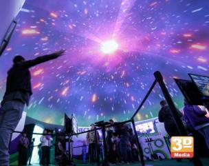 GeoDome Laser Light Show & Silent disco
