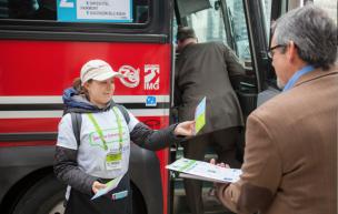 Bus Stop Promotion
